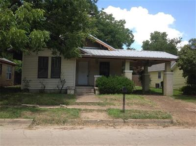Erath County Single Family Home For Sale: 751 W Tarleton Street