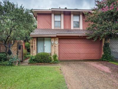 Dallas Half Duplex For Sale: 4982 Thunder Road
