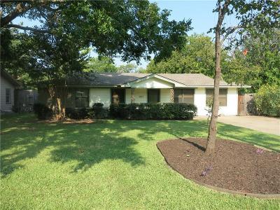 Denton Single Family Home Active Option Contract: 1607 Anna Street