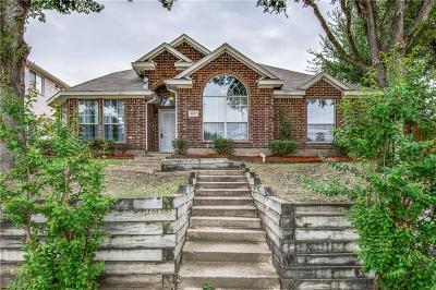 Carrollton Single Family Home Active Option Contract: 1157 San Saba Drive