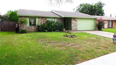 The Colony Single Family Home Active Option Contract: 4833 Garvin Drive
