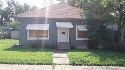Fort Worth Single Family Home For Sale: 3113 Erie Street