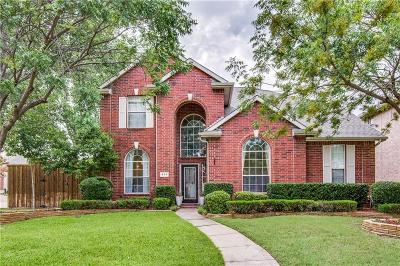 Coppell Single Family Home For Sale: 518 Waterview Drive