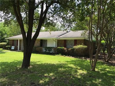 Waxahachie Single Family Home Active Option Contract: 109 Dartmouth Drive