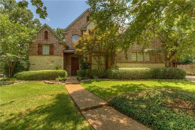 Denton Single Family Home Active Option Contract: 1331 Phoenix Court