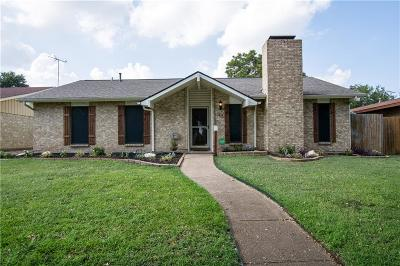 Garland Single Family Home Active Option Contract: 3217 High Plateau Drive