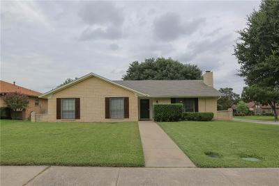 Lewisville Single Family Home Active Option Contract: 1801 Santa Fe