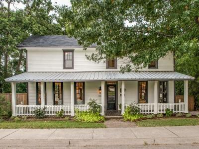 McKinney Single Family Home For Sale: 109 S College Street