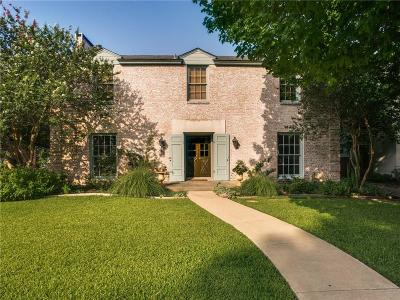 Fort Worth Single Family Home For Sale: 2215 Ward Parkway