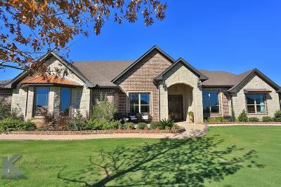 Abilene Single Family Home For Sale: 234 Southwind Circle