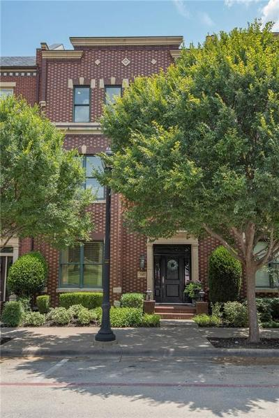 Southlake, Westlake, Trophy Club Townhouse For Sale: 165 Summit Avenue