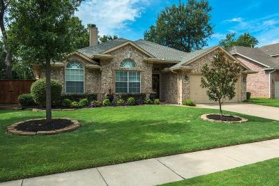 Keller Single Family Home Active Option Contract: 2812 Flint Trail