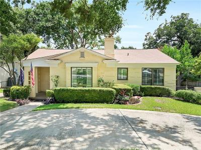 Fort Worth Single Family Home For Sale: 3025 Alton Road