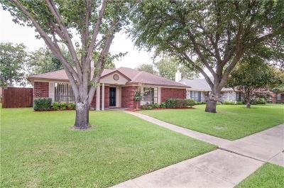 Rowlett Single Family Home Active Option Contract: 2106 University Circle