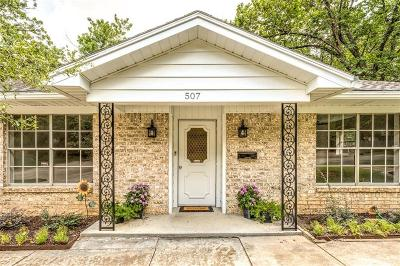 Euless Single Family Home For Sale: 507 Westcliff Drive