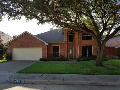 Addison Single Family Home For Sale: 14636 Lexus Avenue