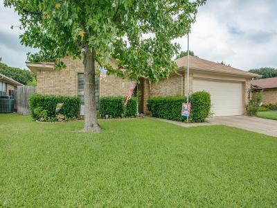 Euless Single Family Home Active Option Contract: 1110 Saratoga Drive
