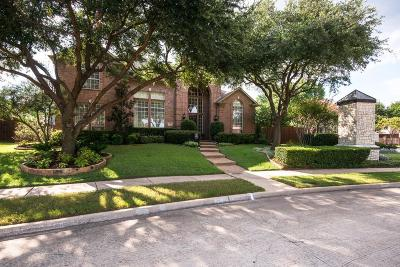 Coppell Single Family Home Active Option Contract: 311 Auburn Way