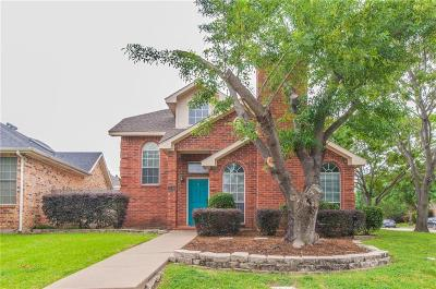 Lewisville Single Family Home Active Option Contract: 1346 Overlook Drive