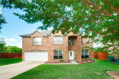 Lewisville Single Family Home For Sale: 2809 Bluffview Drive