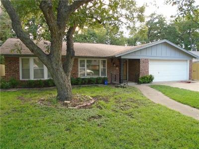 Fort Worth Single Family Home For Sale: 2113 Williams Place