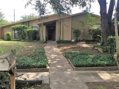Dallas County Single Family Home For Sale: 725 Greenhill Lane
