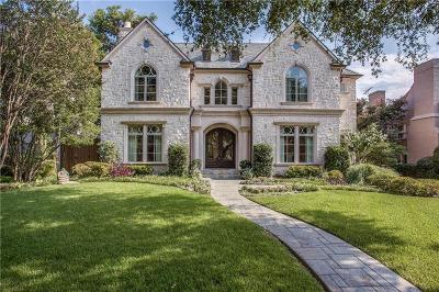 Dallas, Highland Park, University Park Single Family Home For Sale: 4409 Arcady Avenue