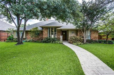 Dallas Single Family Home Active Option Contract: 6449 Embers Road