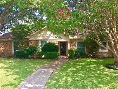 Plano Single Family Home Active Option Contract: 2408 Glen Forest Lane