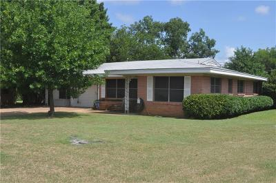 Graham Single Family Home For Sale: 1313 N Rodgers Drive