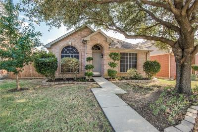 Lewisville Single Family Home Active Option Contract: 564 Timber Way Drive