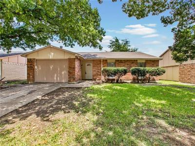 Allen Single Family Home Active Option Contract: 545 Oldbridge Drive