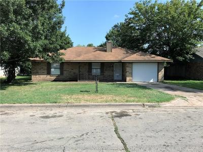 Waxahachie Single Family Home Active Option Contract: 112 Rusty Lane