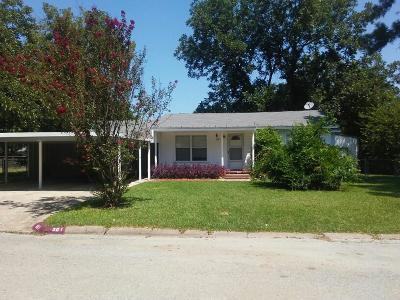 Kaufman Single Family Home For Sale: 301 E 8th Street