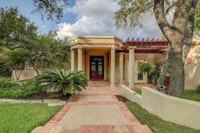 West Lake Single Family Home For Sale: 1110 Blackacre Trail