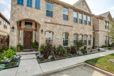 Mckinney Townhouse For Sale: 8825 Whitehead Street