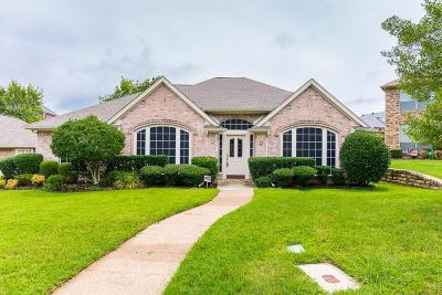 Irving Single Family Home For Sale: 9321 Vista Circle