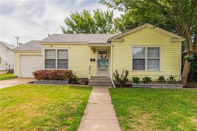 Fort Worth Single Family Home For Sale: 3917 Marks Place
