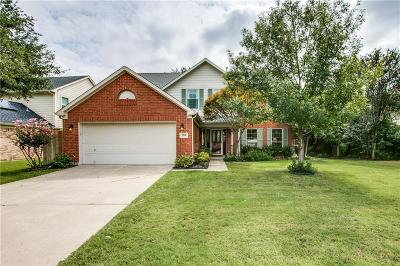 Flower Mound Single Family Home Active Option Contract: 2716 Ponderosa Pine Drive