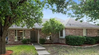 Frisco Single Family Home Active Option Contract: 9400 Sunset Drive
