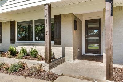 Dallas Single Family Home For Sale: 4147 Cedarbrush Drive