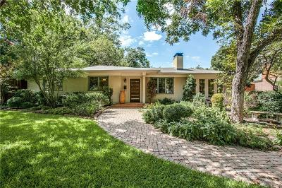 Dallas Single Family Home For Sale: 8423 Santa Clara Drive