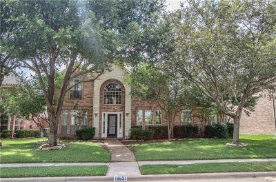 Dallas Single Family Home For Sale: 18531 Gibbons Drive