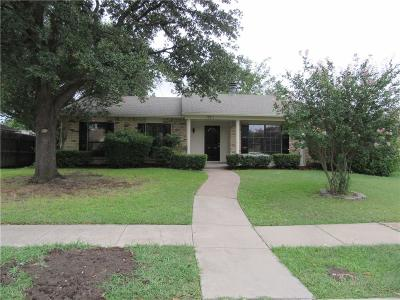 Plano Single Family Home Active Option Contract: 721 Warwick Drive