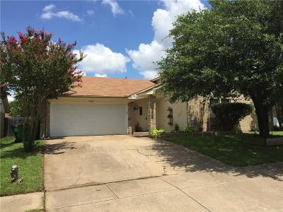 Watauga Single Family Home Active Option Contract: 6637 Fair Oaks Drive