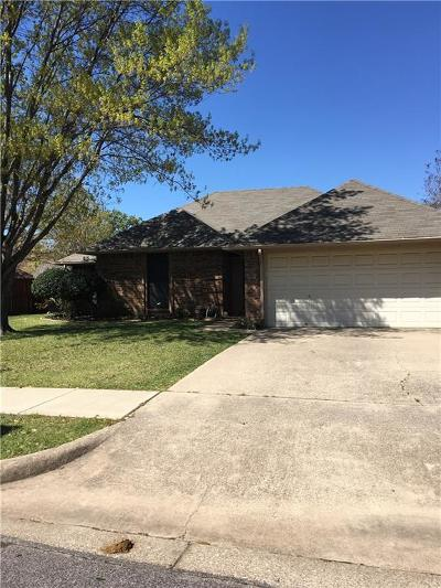 Keller Single Family Home Active Option Contract: 312 Creekside Drive