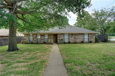 Grapevine Single Family Home Active Option Contract: 3067 Panhandle Drive