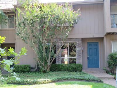 Dallas Townhouse For Sale: 12012 Leisure Drive