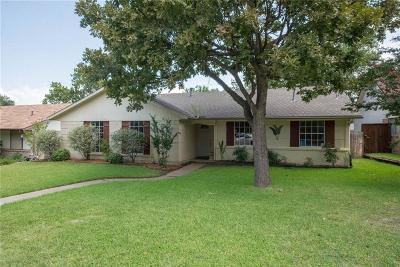 Lewisville Single Family Home Active Option Contract: 619 Abilene Drive