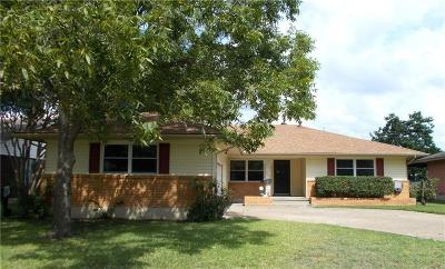 Garland Single Family Home Active Contingent: 1420 Oriole Lane